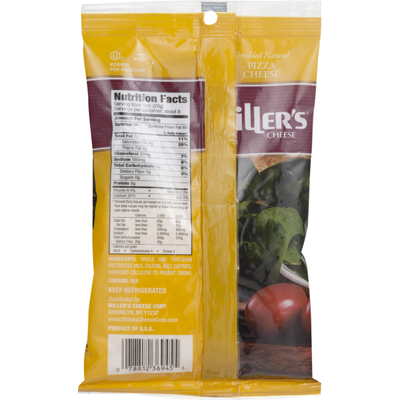 Miller's Cheese Cheese Pizza Cheese Shredded