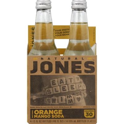 Jones Soda, Orange Mango