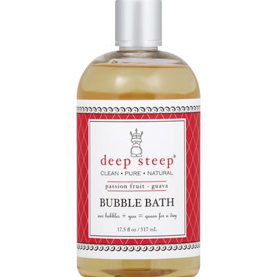 Deep Steep Bubble Bath, Passion Fruit - Guava