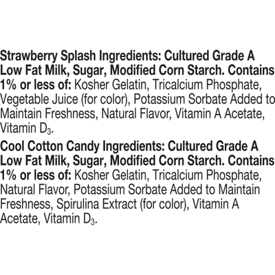Go-Gurt Low Fat Yogurt, SpongeBob SquarePants Variety Pack