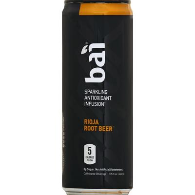 Bai Antioxidant Infusion, Sparkling, Rioja Root Beer