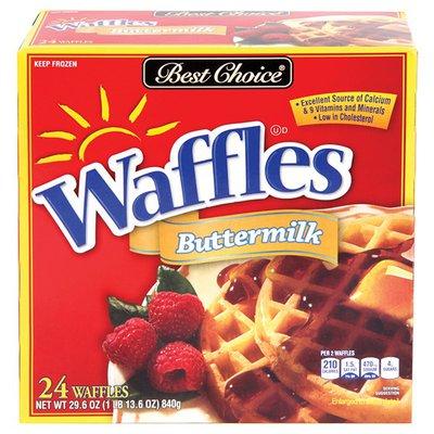 Best Choice Buttermilk Waffles