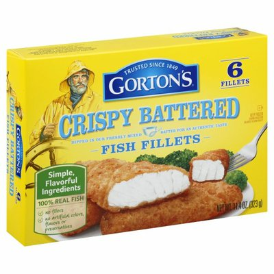 Gorton's Crispy Battered Fish Fillets