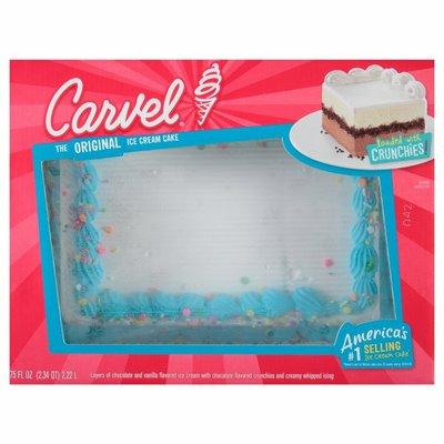 Carvel Family Size Ice Cream Cake