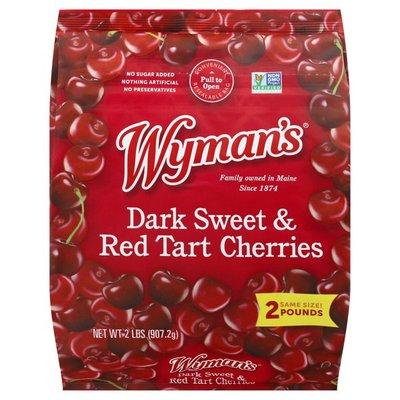 Wyman's Dark Sweet & Red Tart Cherries