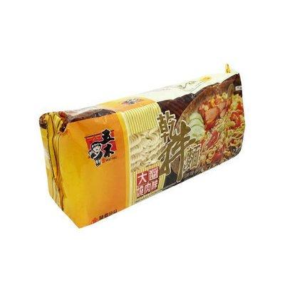 Wu Mu Barbeque Pork Sauce Ramen