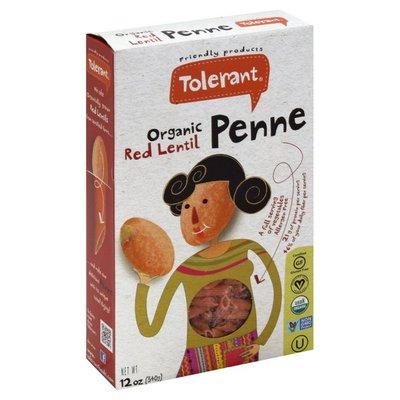 Tolerant Penne, Organic, Red Lentil