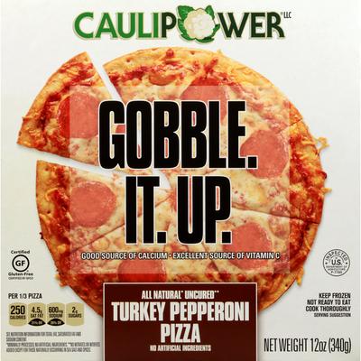 Caulipower Uncured Turkey Pepperoni Cauliflower Crust Pizza