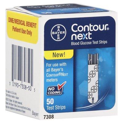 Contour Blood Glucose Test Strips