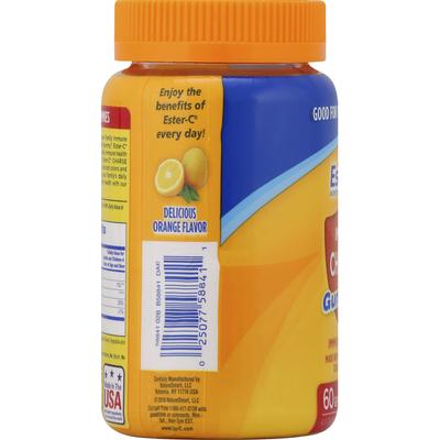 Ester-C Immune Charge, Gummies, Delicious Orange Flavor