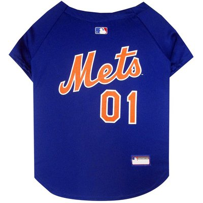 Pets First New York Mets Dog Jersey XS