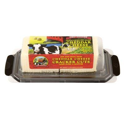 New Bridge Cheese, Cracker Cuts, Cheddar Cheese, New York Extra Sharp