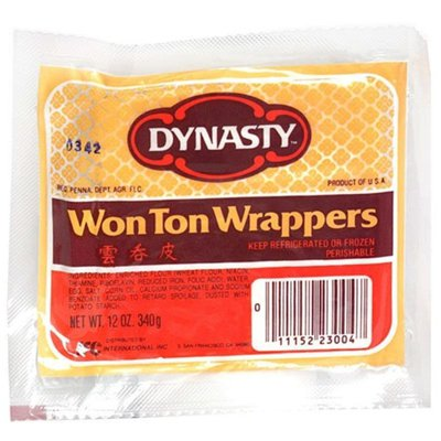 Dynasty Won Ton Wrappers
