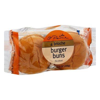 St Pierre Burger Buns, Brioche