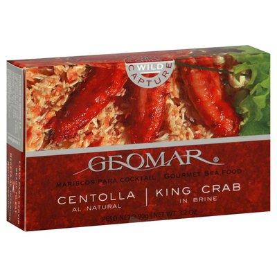 Geomar King Crab, in Brine