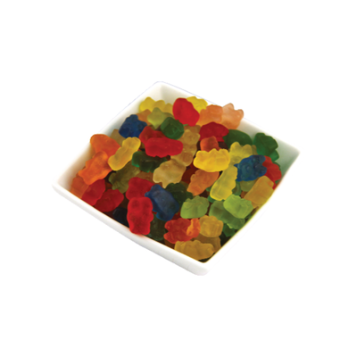 12 Flavor Gummi Bears, Bulk