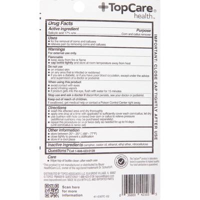TopCare Corn & Callus Remover, Cushions, Liquid