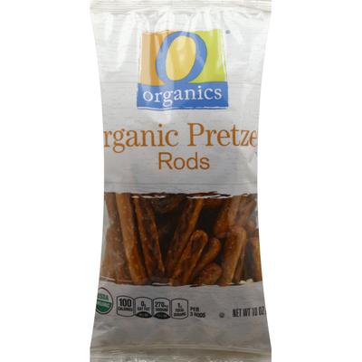 O Organics Pretzel, Organic, Rods
