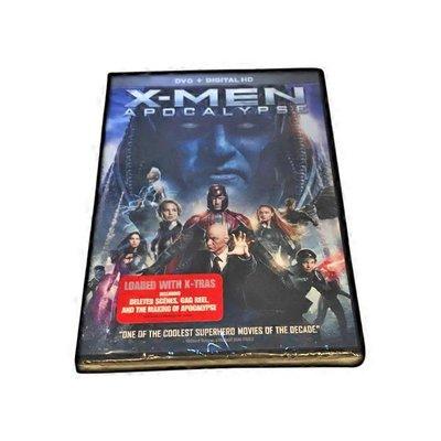 21st Century Fox XMen Apocalypse DVD