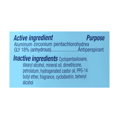 Secret Invisible Solid Antiperspirant And Deodorant, Shower Fresh