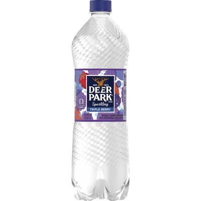 Deer park Sparkling Water, Triple Berry