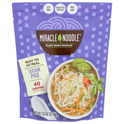 Miracle Noodle Gluten Free Ready-to-Eat Meal, Vegan Pho