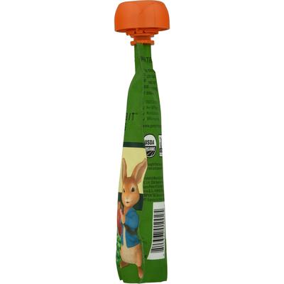 Peter Rabbit Organics Fruit & Vegetable Puree, Apple, Pea & Spinach