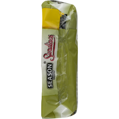 Season Brand Sardines, Brisling, Lightly Smoked, in Pure Olive Oil