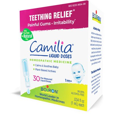 Boiron Camilia, Homeopathic Medicine for Teething Relief