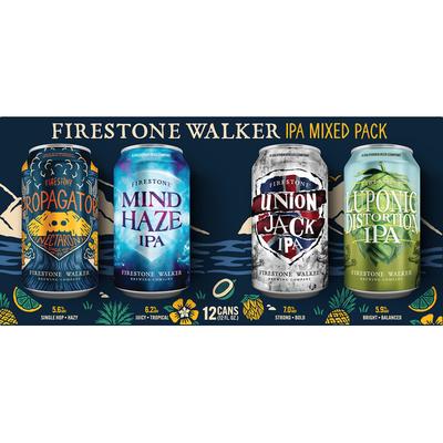 Firestone Walker Crafted Thru Hops Mixed Pack
