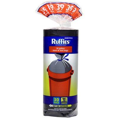 Ruffies Lawn & Leaf Twist Tie 39 Gal Trash Bags