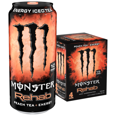 Monster Energy Rehab Peach