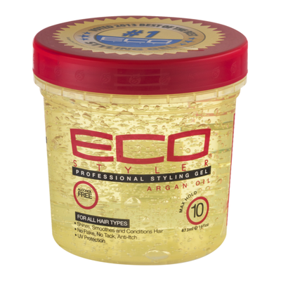 Eco Styler Styling Gel, Professional, Argan Oil, Max Hold 10