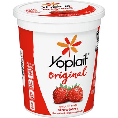 Yoplait Original Yogurt, Original Strawberry, Low Fat Yogurt