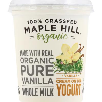 Maple Hill Creamery Organic Vanilla Yogurt