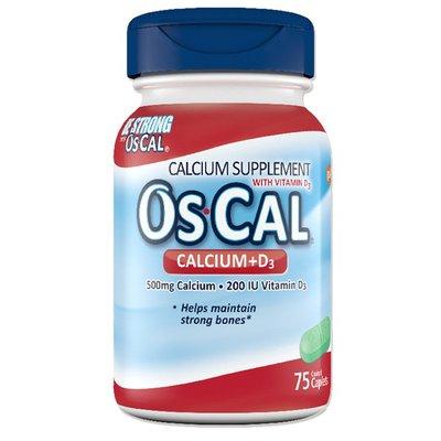Os-Cal Calcium Vitamin D Combination Mineral Supplement