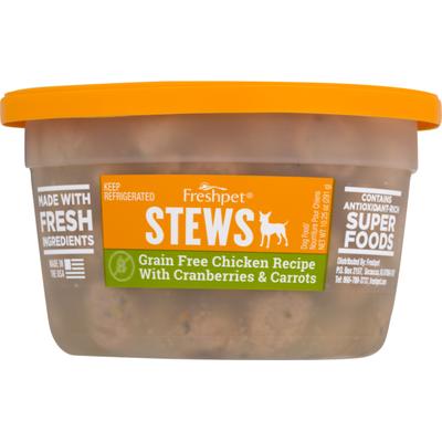 Freshpet Stews Grain Free Chicken Recipe with Cranberries & Carrots