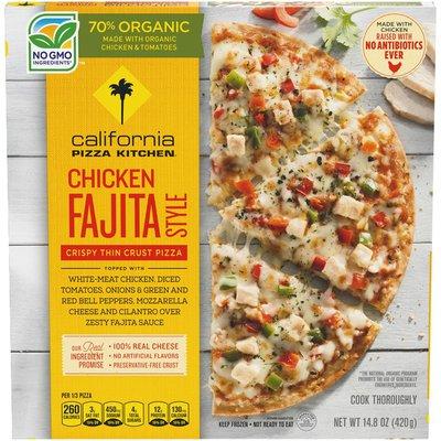 California Pizza Kitchen Chicken Fajita Style Crispy Thin Crust Frozen Pizza