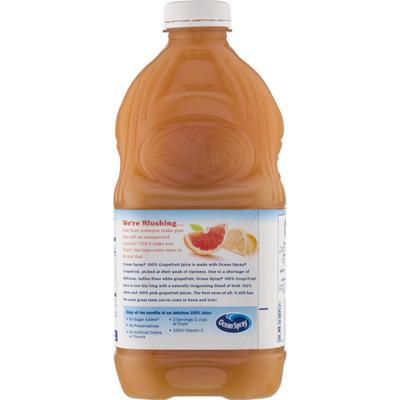 Ocean Spray 100% Juice, 100% Grapefruit
