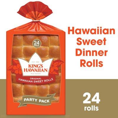 King's Hawaiian Original Hawaiian Sweet Rolls 24PK