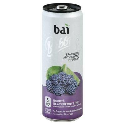Bai Bogotá Blackberry Lime, Sparkling Antioxidant Infused Beverage