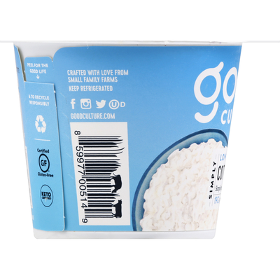 Good Culture Cottage Cheese, Simply, Low-Fat Classic