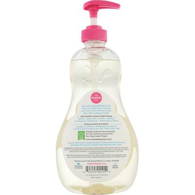 Dapple Bottle & Dish Soap, Fragrance Free