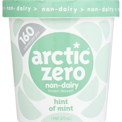 Arctic Zero Hint of Mint, Rich Chocolate with a Splash of Mint Fit Frozen Dessert