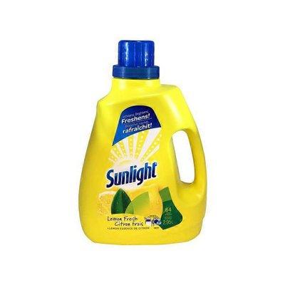 Sunlight 2X Lemon Fresh Liquid Laundry Detergent