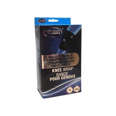 Trainer's Choice One Size Blue Compression Knee Wrap