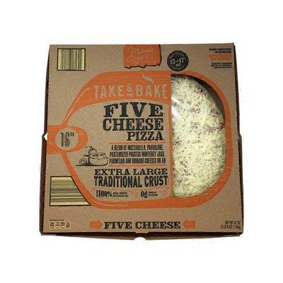 """Mama Cozzi's Pizza Kitchen 16"""" Five Cheese Deli Pizza"""