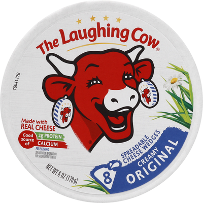 The Laughing Cow Creamy Swiss Original