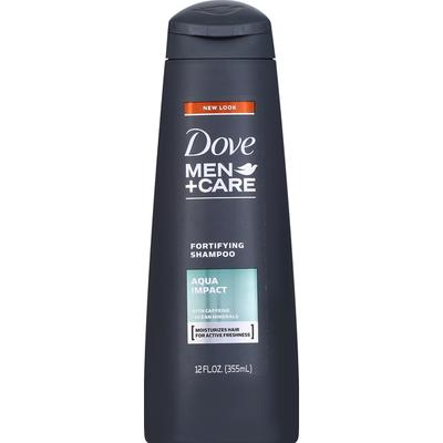 Dove Shampoo, Fortifying, Aqua Impact