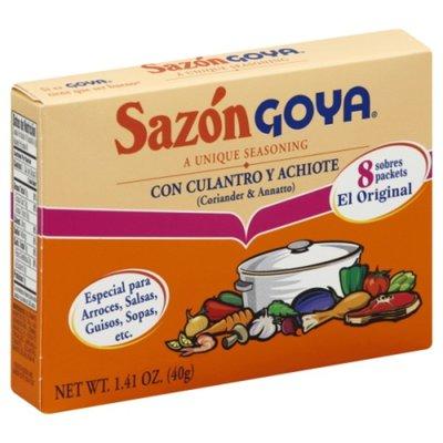 Goya Sazón Seasoning with Coriander & Annatto